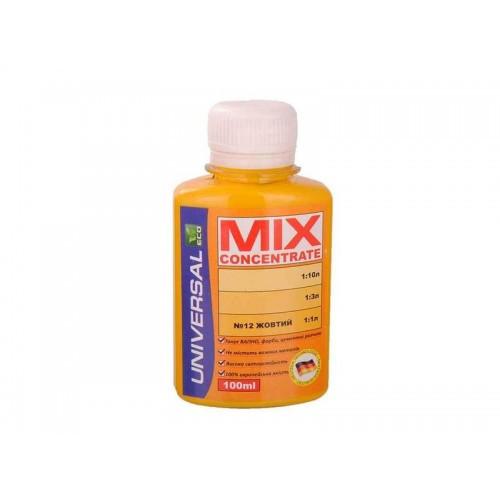 Колорант MIX concentrate №12 желтый 100мл