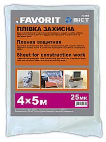 Пленка малярная защитная Favorit 25 мкм 4 х 5 м (10-805)