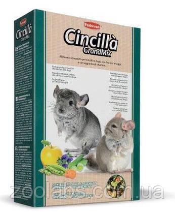 Корм для шиншилл и дегу Grandmix Cincilla 0,85 кг, фото 2