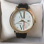 Женские наручные часы  Gucci (реплика) черные, фото 4