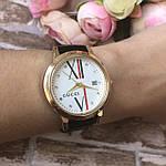 Женские наручные часы  Gucci (реплика) черные, фото 6
