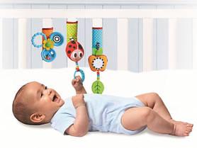 Липучки для детской кроватки и коляски «Веселая игра»