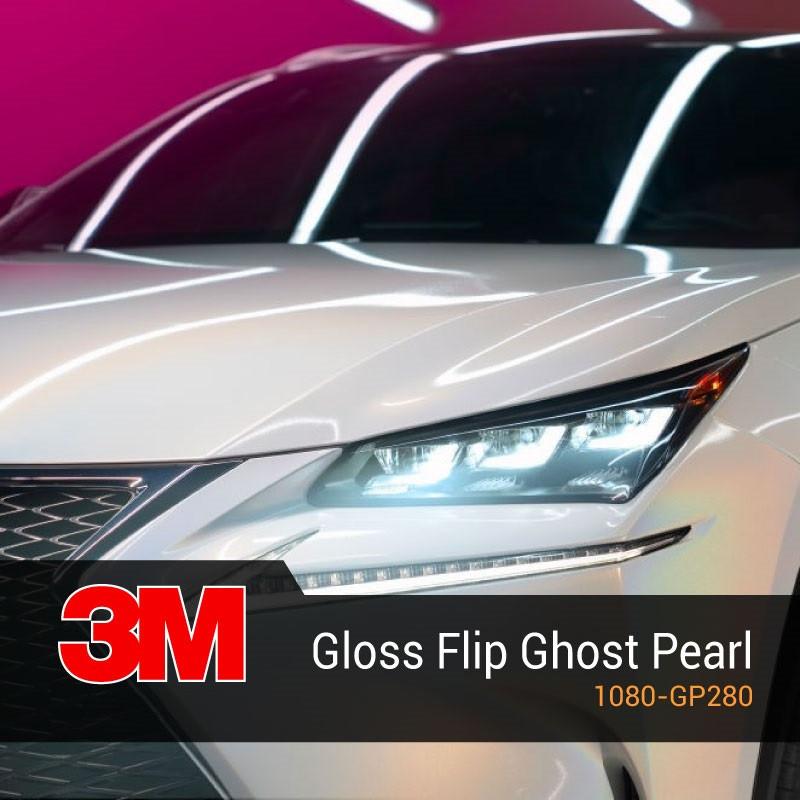 3M 1080 Gloss Flip Ghost Pearl GP280 Глянцевая перламутровая пленка 1.524 м