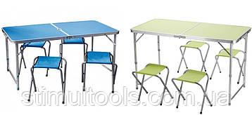 Стол + 4 стула складной чемодан для пикника