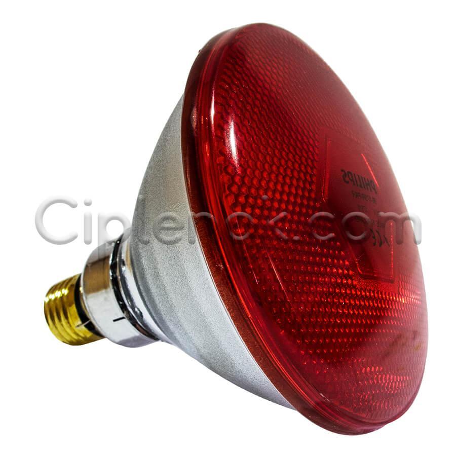 Инфракрасная лампа для обогрева PAR38 175 Вт Philips