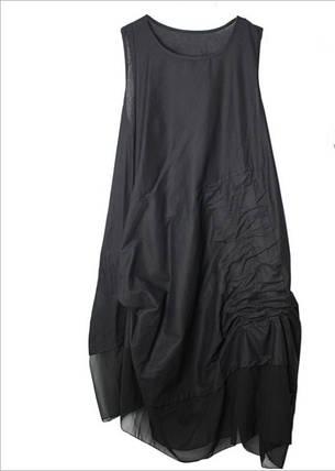 Женское Платье SS19 Black Черное, фото 2