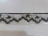 Бордюр обойный 5,5 см (серый)