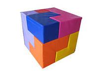 Конструктор-пазл кубик Сома (7 ед.)