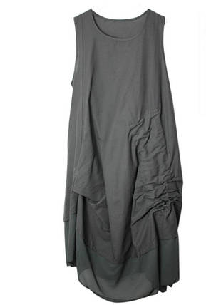 Женское Платье SS19 Dark Grey Серое, фото 2