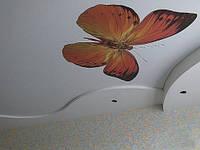 Фотопечать на натяжном потолке от 260 грн м2
