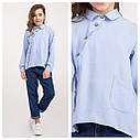 Блуза модная для девочек Milana TM BrilliAnt Размер 140, фото 2