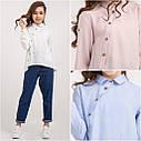 Блуза модная для девочек Milana TM BrilliAnt Размер 140, фото 3