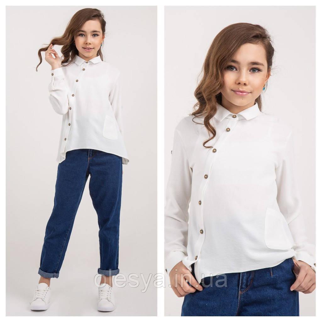 Блуза модная для девочек Milana TM BrilliAnt Размер 140