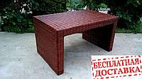 """Плетеный столик в стиле """"Хай-тек"""""""