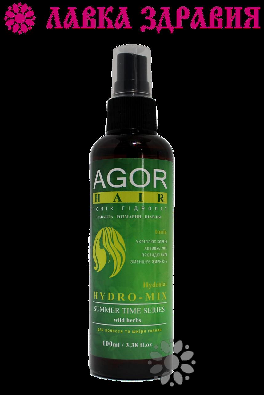 Тоник для волос AGOR Гидролат HYDRO-MIX 100 мл