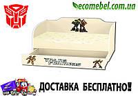 Кровать диван Kinder Cool ТРАНСФОРМЕРЫ с ящиком в комплекте