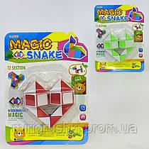 Логическая игра Змейка 009-7 (58016) 2 цвета, на листе