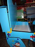 Парта детская+стул W055 A, растишка-трансформер. киев, фото 5