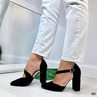 Женские туфли черные Lara 451, фото 1