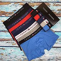 Мужские трусы Tommy Hilfiger - 5 штук в подарочной упаковке боксеры