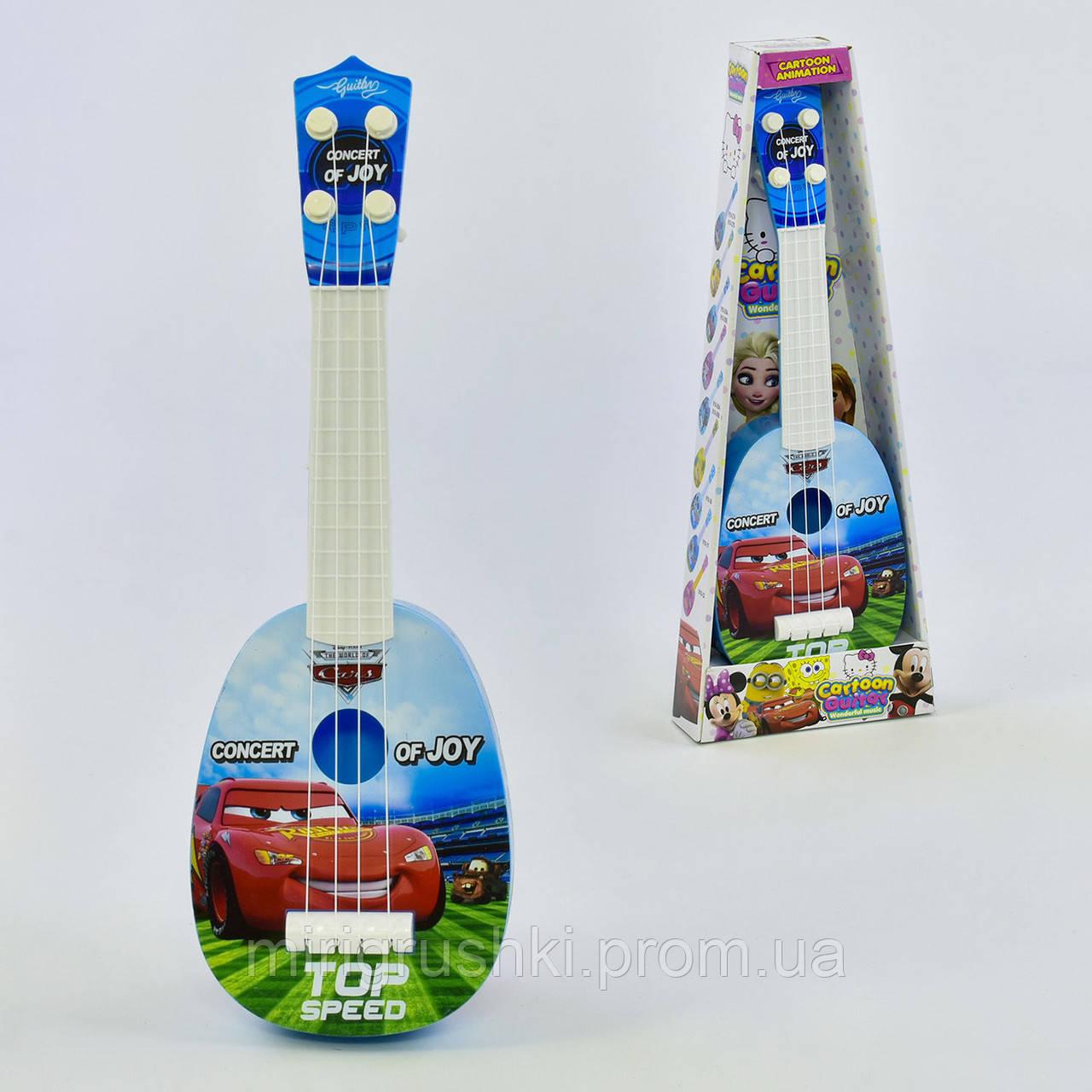 Гитара детская акустическая 819-28 АВ (72435) 2 вида, в коробке