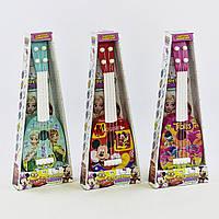 Гитара детская акустическая 819-35-38-34 (72436) 3 вида, в коробке