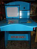 Парта детская+стул W055 A, растишка-трансформер. киев, фото 9