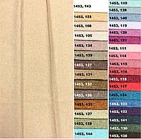 Ткань для штор однотонная рогожка, Коллекция 1, 1453.