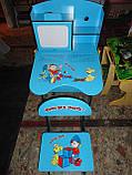 Парта детская+стул W055 A, растишка-трансформер. киев, фото 7