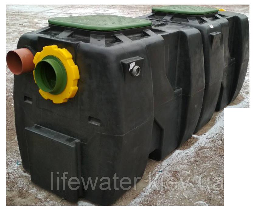 Сепаратор нафтопродуктів OIL SB 25/125