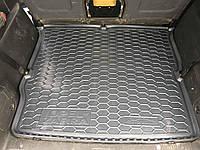 Коврик в багажник Opel Zafira B 2005-2012  резиновый, без запаха