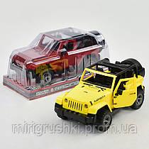 Машина 601-1 А (62727) 2 цвета, инерция, в слюде