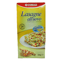 Лазанья Сonad Lasagne all'uovo 500г