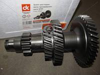 Блок шестерен вала промеж. (52-1701050-10) КПП ГАЗ-53,3307 (под гайку) <ДК>
