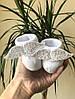"""Носочки """"Ангел"""" белые, для новорожденных от 0-6 мес."""
