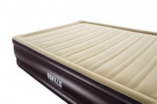 Надувная кровать BestWay 67597 (203x152x43см.) без насоса., фото 3