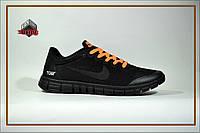 Мужские кроссовки Nike Free Run 3.0 x Off-White