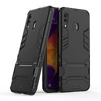 Чехол для Samsung Galaxy A30 2019 / A305 Hybrid Armored Case черный
