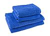 """Полотенце (70х140 см) синее махровое """"Отель"""" спец.качество"""