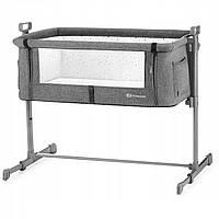 Кроватка Kinderkraft Neste Grey Melange (KK_NE01)