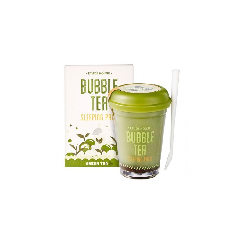 Ночная маска для лица Etude House Bubble Sleeping Pack Green Tea 100 гр