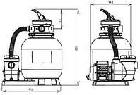 Фильтровальная установка  BRIDGE 350 (5 М3 /Ч) до 30 М3