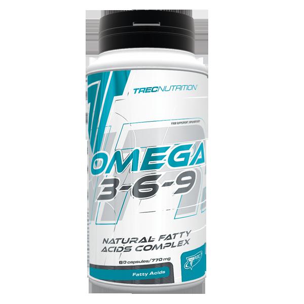 Комплекс жирных кислот Trec Nutrition Omega 3-6-9 120caps