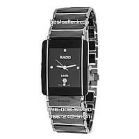 Часы Rado Integral Ceramica Hi-TECH Black/Silver. Replica: ААА., фото 1