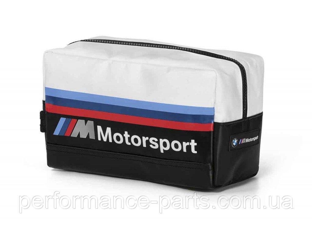 Дорожній несесер BMW M Motorsport Personal Care Bag, Black/White 80222461147