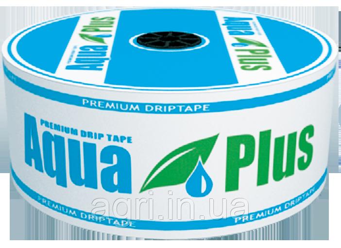 Капельная лента Aquaplus 8mil 20см (кратно 50м) Капельный полив