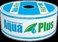 Капельная лента Aquaplus 8mil 20см (кратно 50м) Капельный полив, фото 1