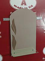 Зеркало в ванную комнату № Барвинок /Дюбель в Подарок