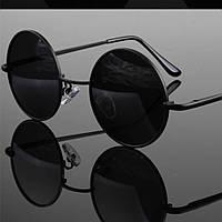 Очки солнцезащитные поляризационные круглые VIVIBEE 1801046 черные