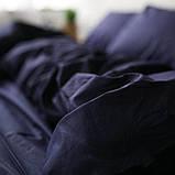 Постельное белье поплин Синий, фото 3